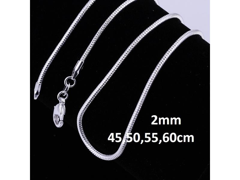 Posrebren prelep lanac 925,2mm