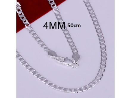 Posrebren prelep lanac, 925 ,50cm,55cm