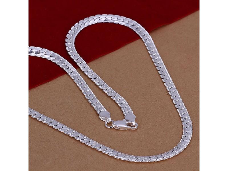Posrebren prelep lanac, 925 , 5mm