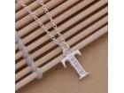 Posrebrena prelepa ogrlica 925