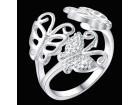 Posrebreni univerzalni prsten, 925