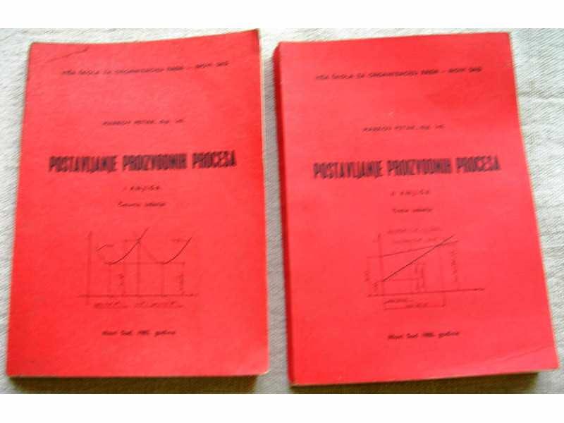 Postavljanje proizvodnih procesa I, II - P. Markov