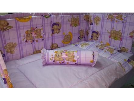 Posteljina za bebi krevetac