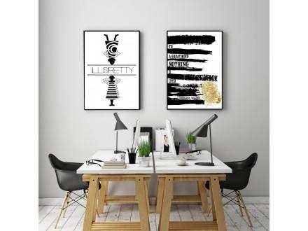 Posteri- print na medijapanu