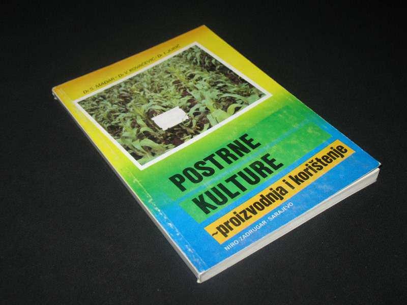 Postrne kulture/Dr S. Mađar-Dr V. Kovačević-Dr I.Juric