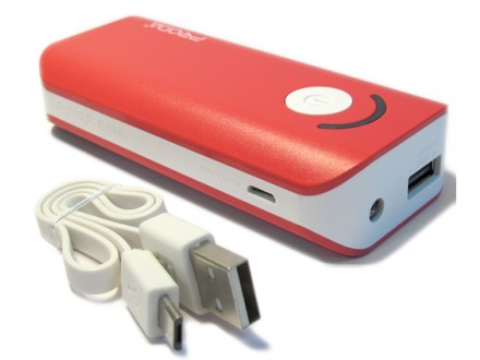 Power Bank REMAX PRODA JANE POWER BOX V3 6000mAh crveni
