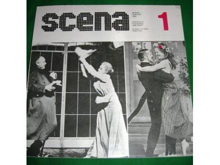 Pozorišni časopis SCENA br. 1