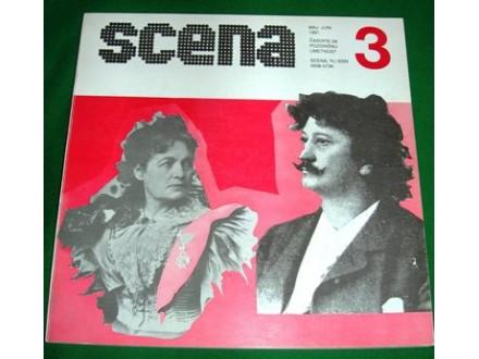 Pozorišni časopis SCENA br. 3