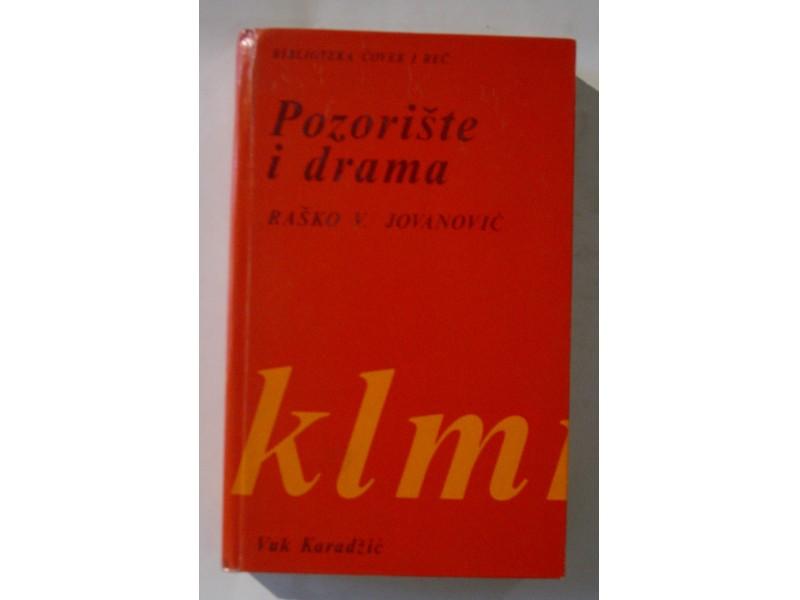 Pozorište i drama. Raško V. Jovanović