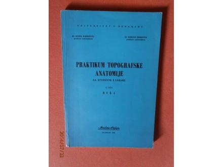 Praktikum Topografske Anatomije (Ruka), S. Radojevic