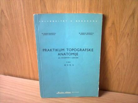 Praktikum Topografske Anatomije (Ruka)