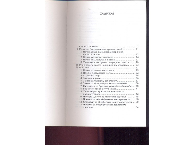Praktikum za primenu hipoteke Dragan Klepić