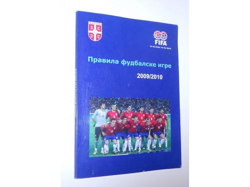 Pravila fudbalske igre 2009/2010
