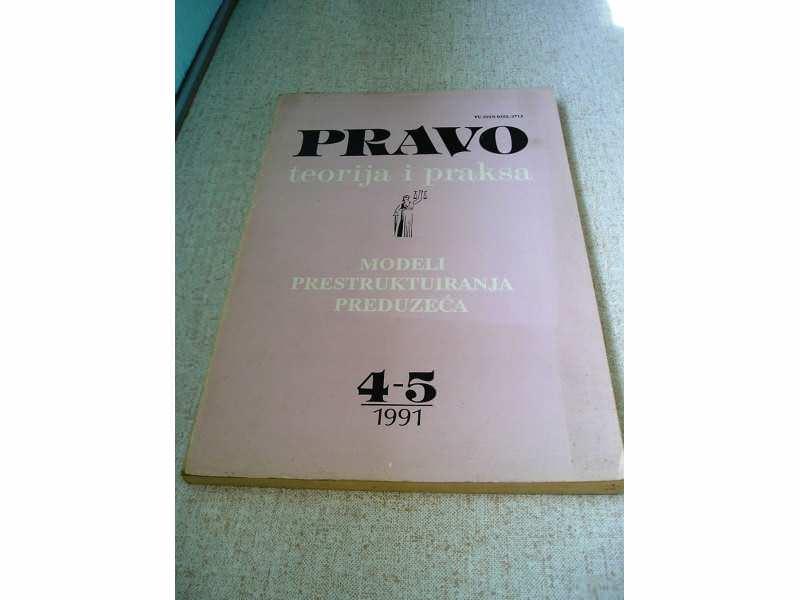 Pravo teorija i praksa 1991 4-5