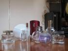 Prazne bočice original parfma sa mrvicom parfema