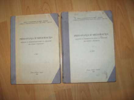 Predavanja iz melioracija I i II