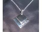 Prelepa posrebrena ogrlica 925.. Tiffany