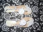 Prelepe bele letnje sandale, NOVO!!