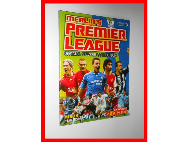 Premier League 2007/08, Merlin - album, prazan