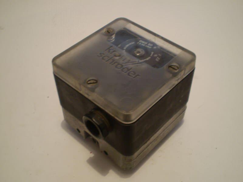 Presostat 2,5-50mbar (switch)