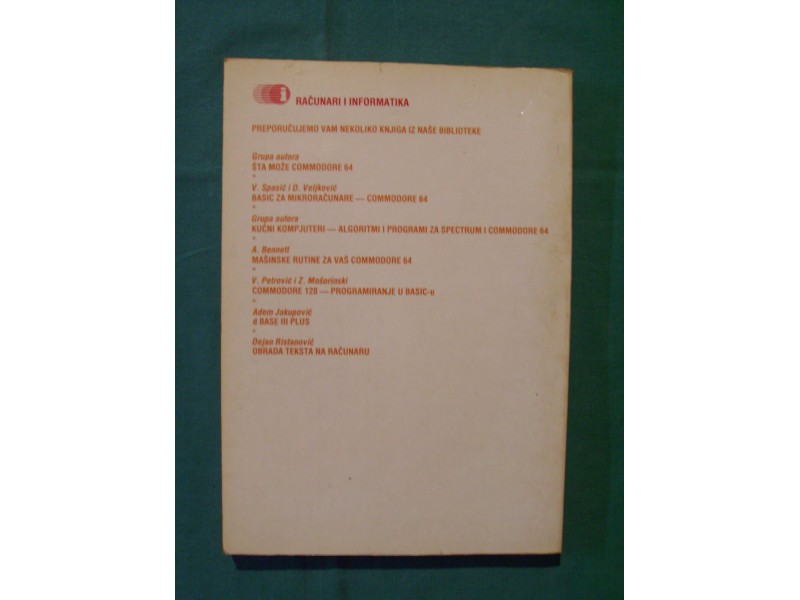 Primena programa MS WORD