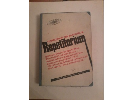 Priručnik za maturu-repetitorium