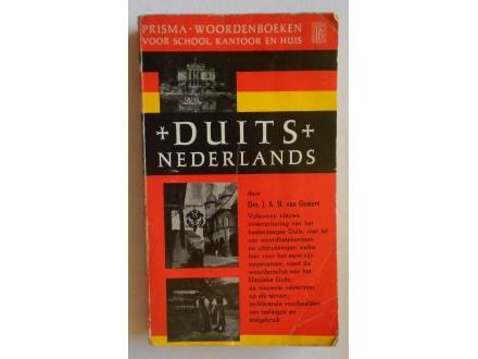 Prisma woordenboek: Duits -Nederlands