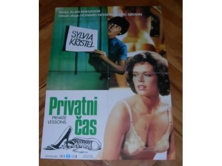 Privatni čas (S. Kristel) - filmski plakat