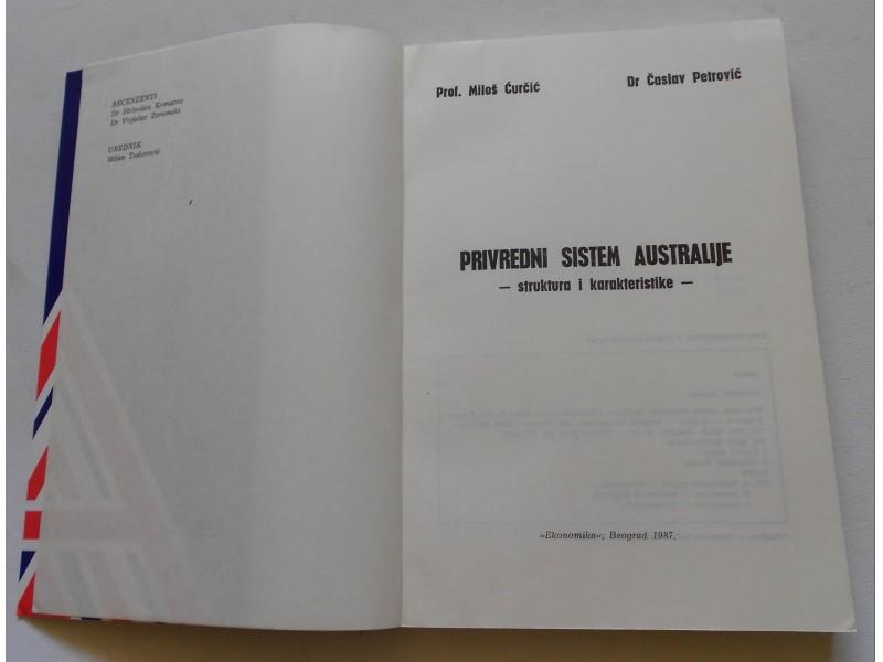 Privredni sistem Australije -  Časlav Perović...