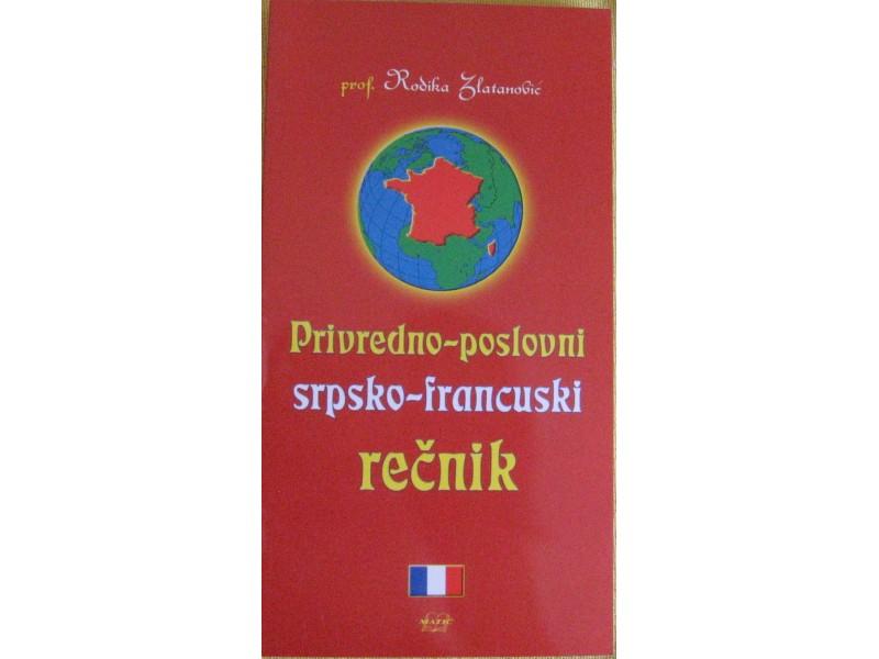 Privredno poslovni srpsko - francuski rečnik  Zlatanovi