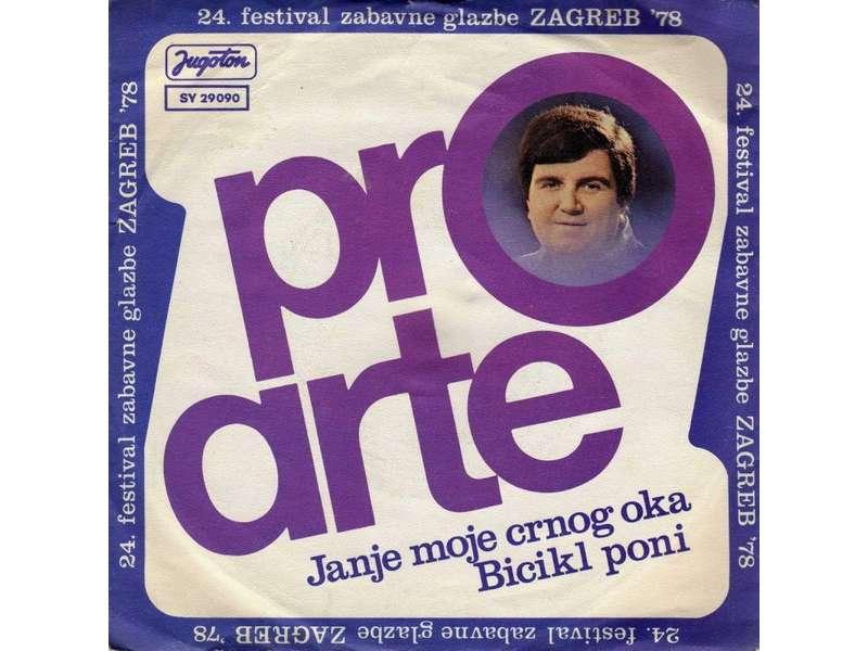 Pro Arte (2) - Janje Moje Crnog Oka / Bicikl Poni