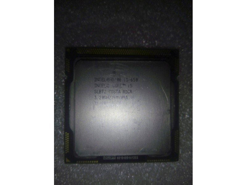 Procesor Intel® Core™ i5-650  3,2-3,46GHz 4MBcache