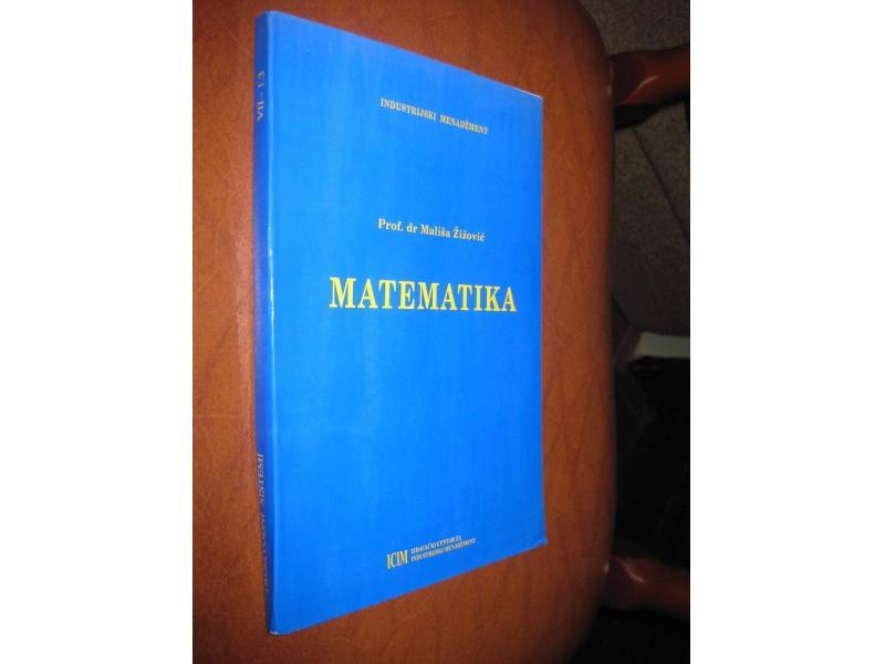 Prof. Dr. Mališa Žižović - Matematika