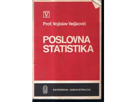 Prof. Vojislav Veljković: POSLOVNA STATISTIKA