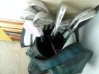 Profesionalni stapovi i torba za golf