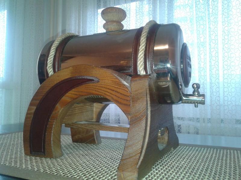 Prohromski burići od 6 litara, drvo, koža