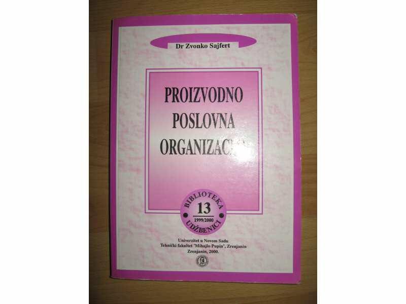 Proizvodno poslovna organizacija