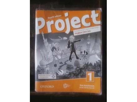 Project, radna sveska za 4. razred