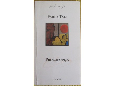 Prozopopeja  Farid Tali