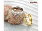 Prsten 316L - Hiruski Celik - R013 Pozlata 18K