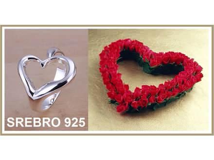 Prsten SREBRO 925 - R009