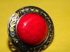 Prsten od crvenog tirkiza, univerzalne veličine