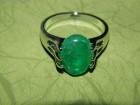 Prsten od zelenog od aventurina -20 mm