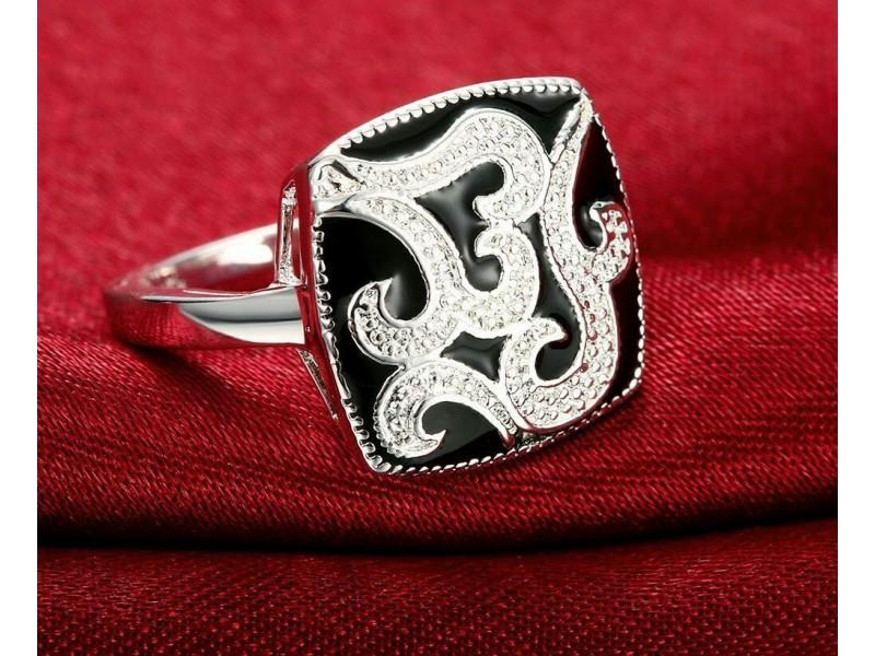 Prsten  posrebren 925 srebrom