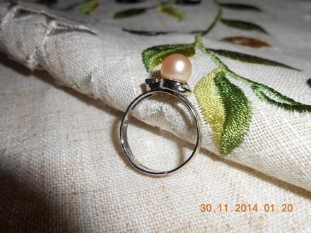 Prsten sa biserom