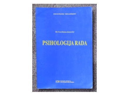 Psihologija rada