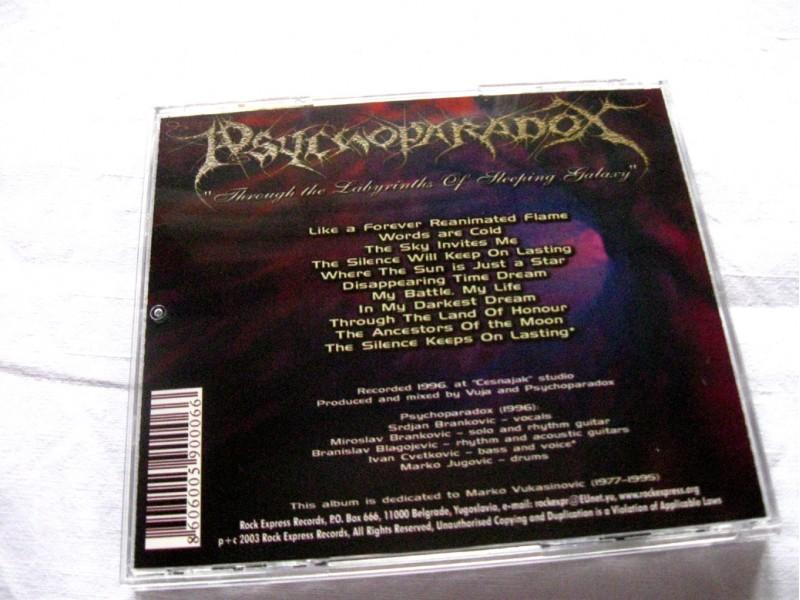 Psychoparadox - Through The Labyrinths Of Sleeping Galaxy