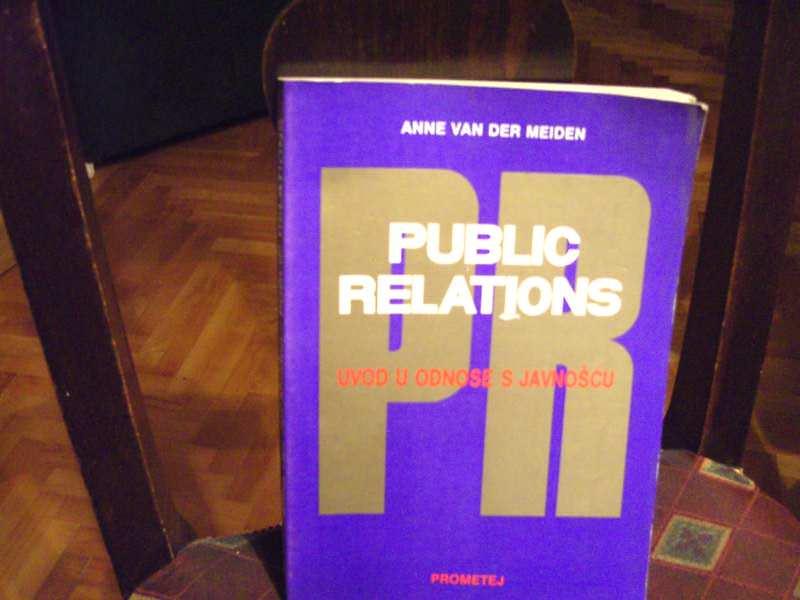 Public relations, Uvod u odnose s javnošću