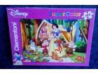 Puzzle 104 Clementoni Disney Super Color Nove Kvalitetn