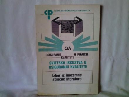 QA osiguranje kvalitete u praksi